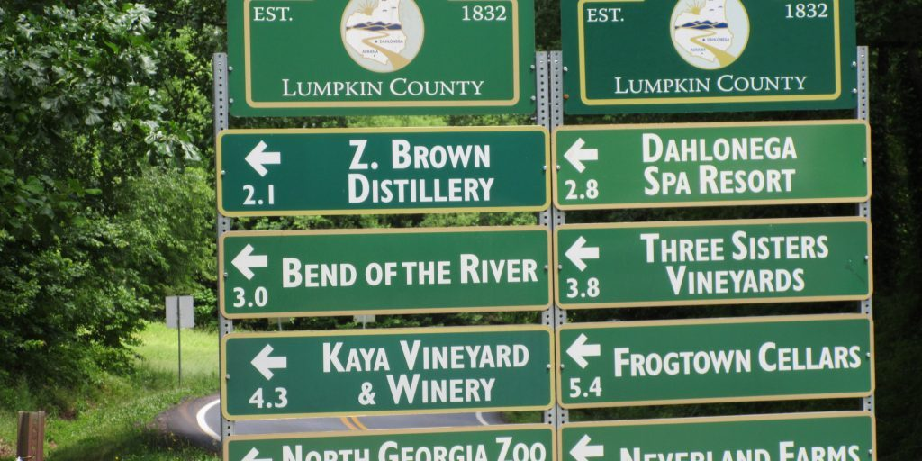 Places to visit in nearby Lumpkin County